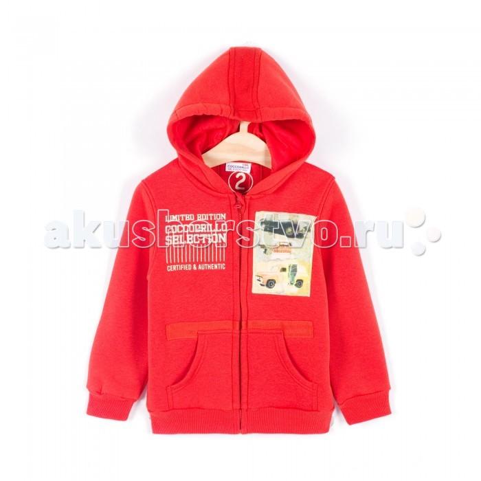 Детская одежда , Толстовки, свитшоты, худи Coccodrillo Толстовка с капюшоном для мальчика Cars арт: 341035 -  Толстовки, свитшоты, худи
