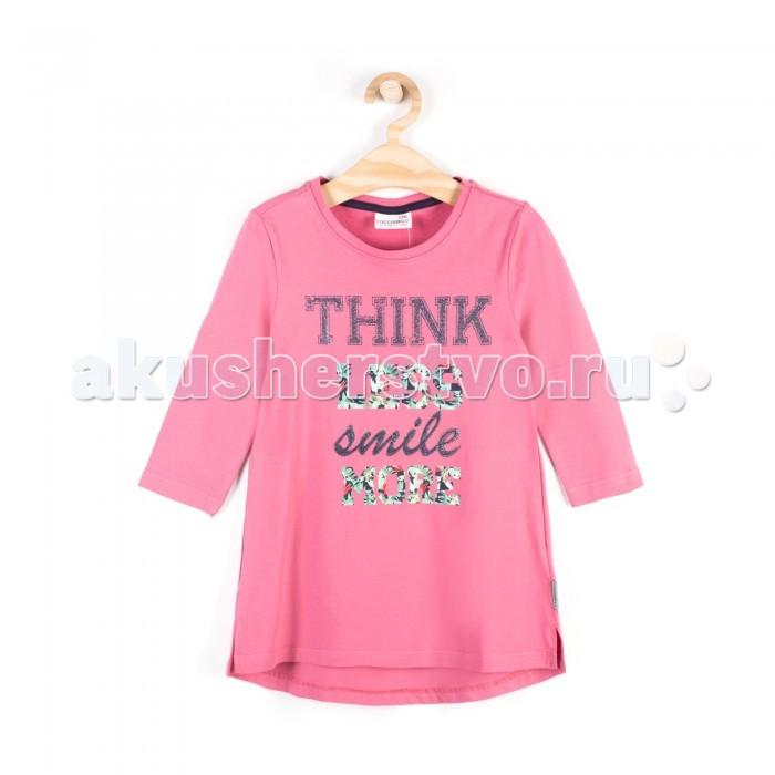 Детская одежда , Водолазки и лонгсливы Coccodrillo Туника для девочки Look Nice Everyday арт: 338775 -  Водолазки и лонгсливы