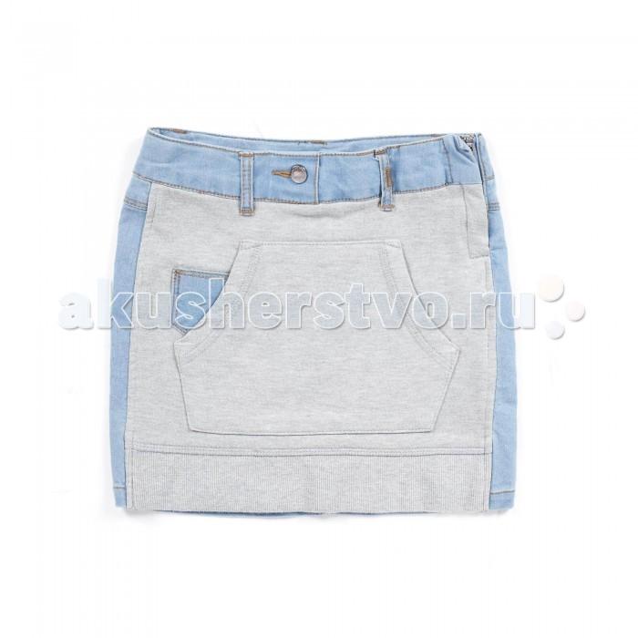 Юбки Coccodrillo Юбка для девочки джинсовая W16124201CJG, Юбки - артикул:329095