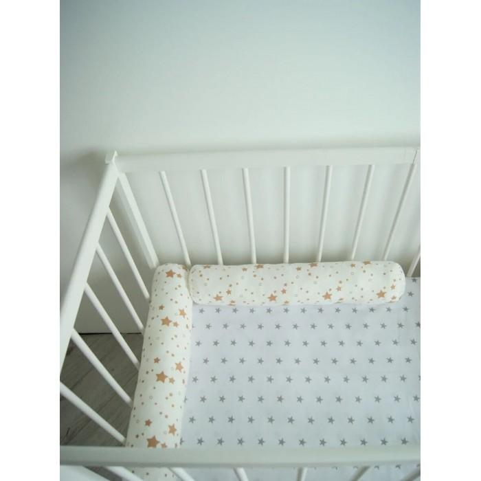 Бортики в кроватку Cocodikama Подушка валик Звезды 2 шт. бортики в кроватку cocodikama подушка валик месяц
