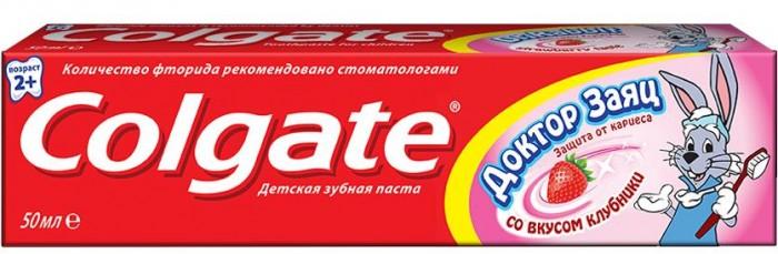 Гигиена полости рта Colgate Детская зубная паста 50 мл Доктор Заяц гигиена полости рта colgate зубная паста бережное отбеливание 100 мл