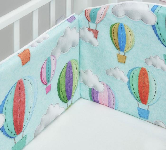 Картинка для Бортики в кроватку ColibriLilly Bon Voyage 120х60 см