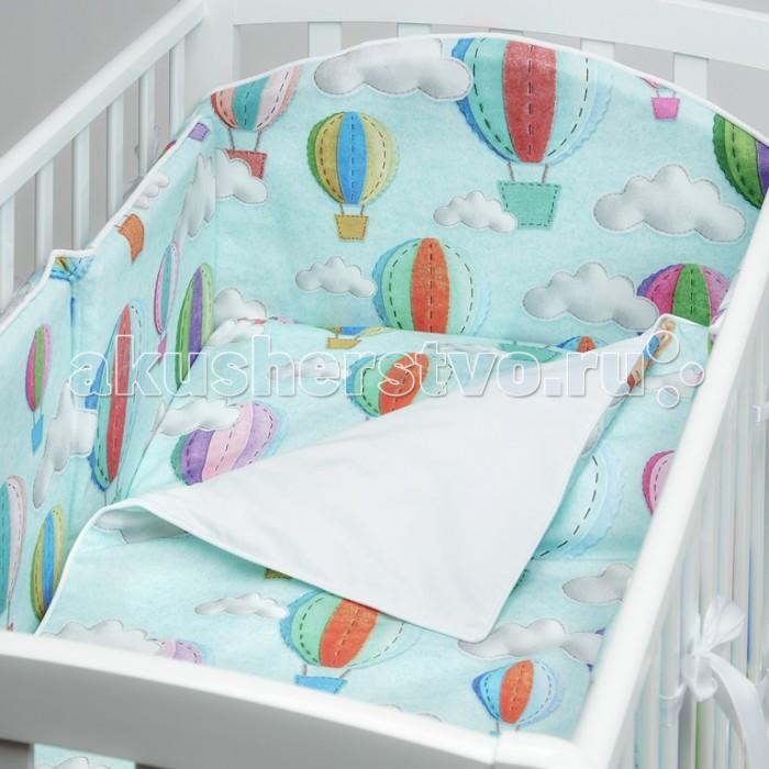 Комплект в кроватку Colibri&Lilly Bon Voyage (4 предмета)
