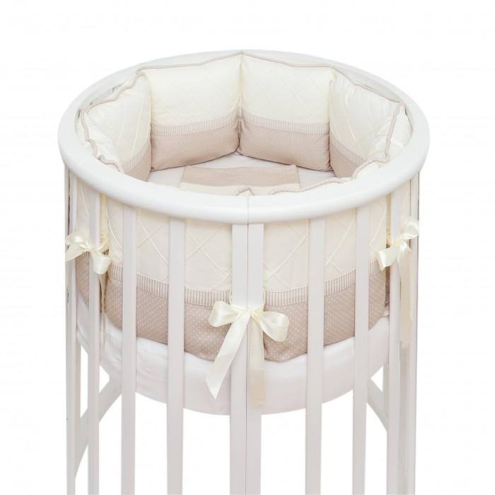 Купить Комплекты в кроватку, Комплект в кроватку Colibri&Lilly Cappuccino Round (7 предметов)