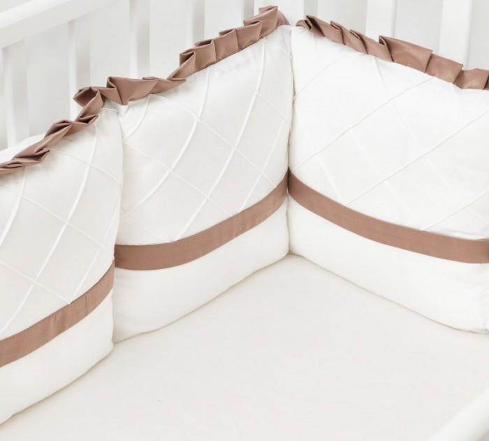 Бортик в кроватку Colibri&Lilly Chocolate 120х60 см