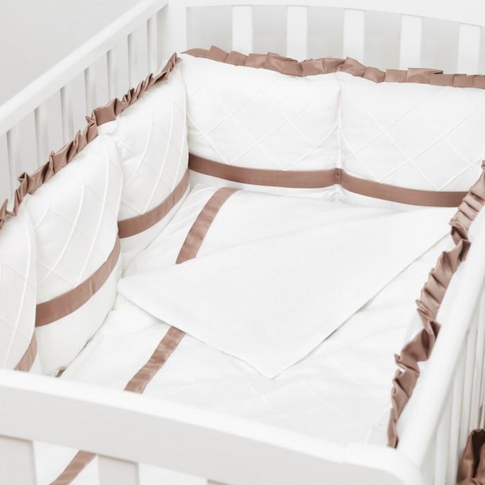 Комплекты в кроватку Colibri&Lilly Chocolate (6 предметов)