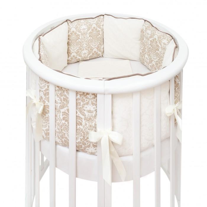 Бортик в кроватку Colibri&Lilly Damask Round Pillow в круглую и овальную кроватку