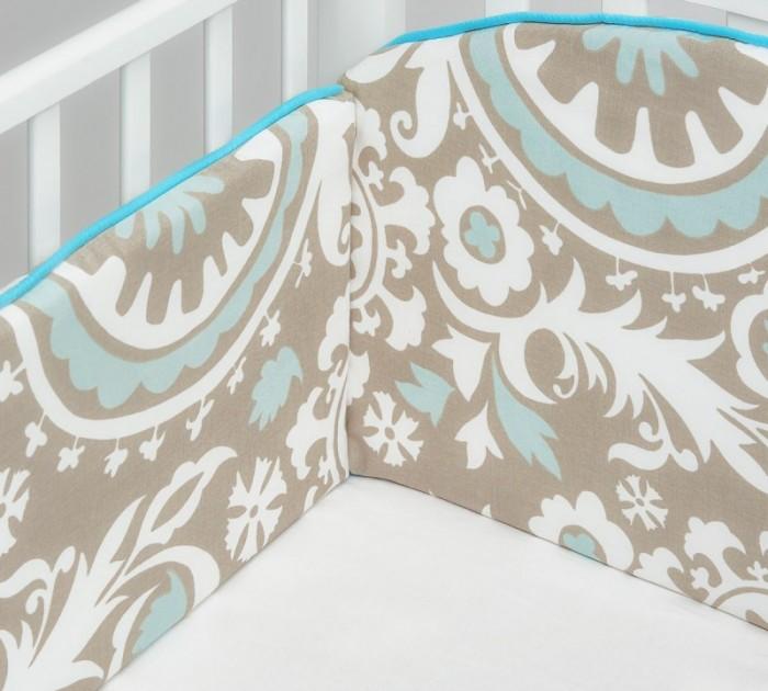 Бортик в кроватку Colibri&Lilly Dream Melody 120х60 см
