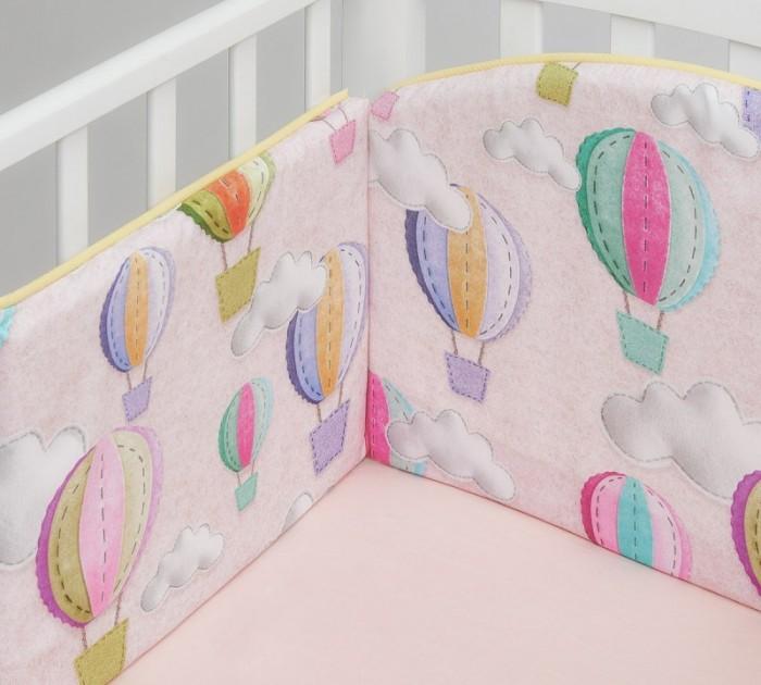 Бортик в кроватку Colibri&Lilly Journey in Clouds 120х60 см