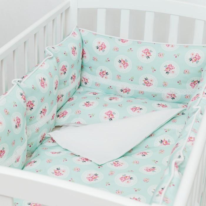 Постельные принадлежности , Комплекты в кроватку Colibri&Lilly Lady Rose (6 предметов) арт: 489066 -  Комплекты в кроватку
