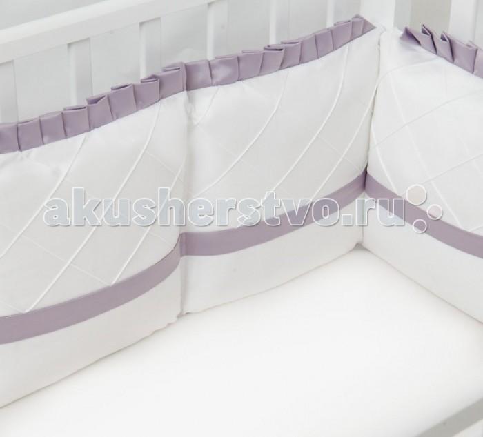 Купить Бортики в кроватку, Бортик в кроватку Colibri&Lilly Lavender 120х60 см