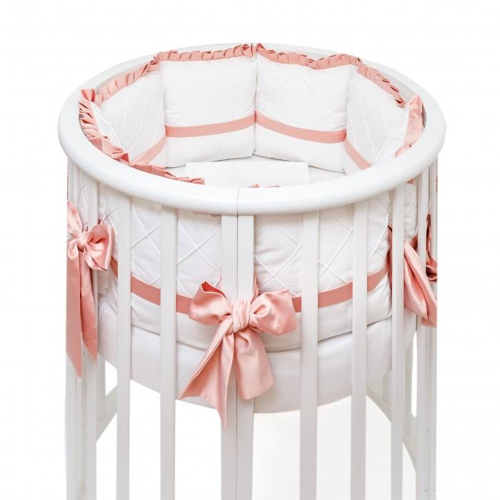 Комплекты в кроватку Colibri&Lilly Mademoiselle Round (7 предметов) mercury постельные принадлежности набор 4 штуки простыня с набивной чехол на одеяло 100