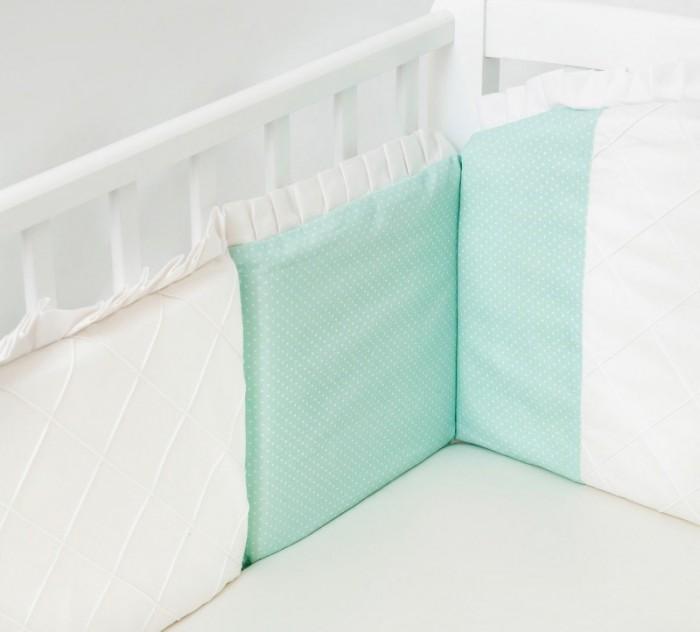 Бортик в кроватку Colibri&Lilly Mint 120x60 см