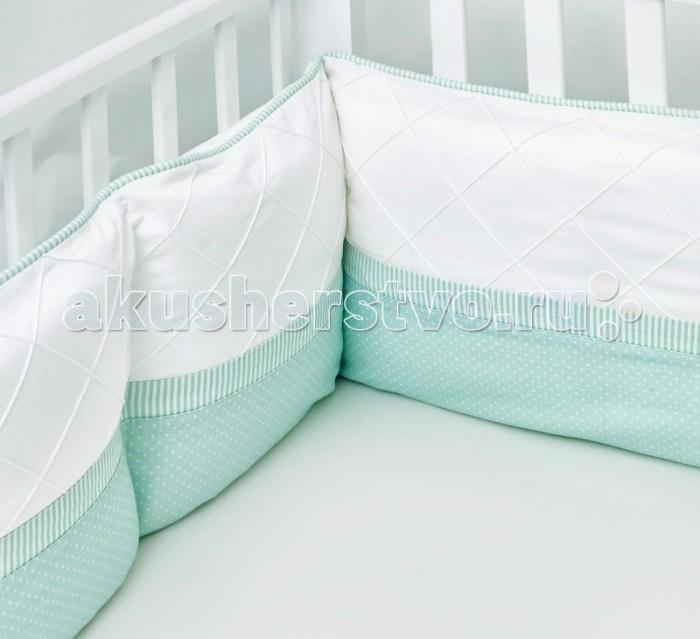 Бортик в кроватку Colibri&Lilly Mint Pillow 120х60 см
