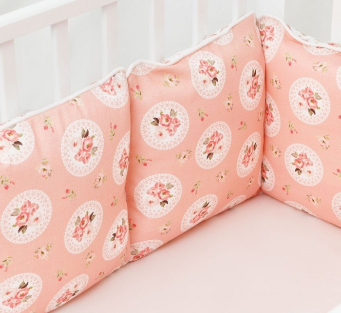 Бортик в кроватку Colibri&Lilly Nicole 120х60 см