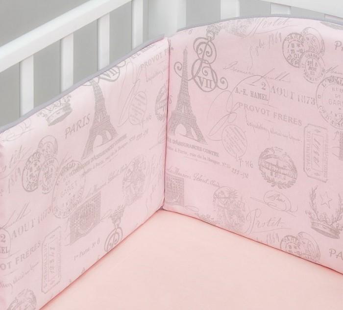 Купить Бортики в кроватку, Бортик в кроватку Colibri&Lilly Paris 120х60 см