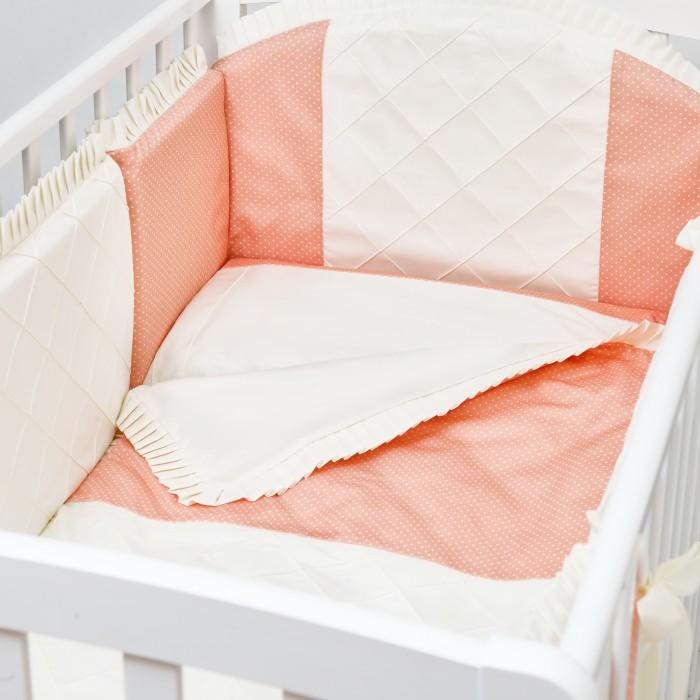 Комплект в кроватку Colibri&Lilly Peach (6 предметов)