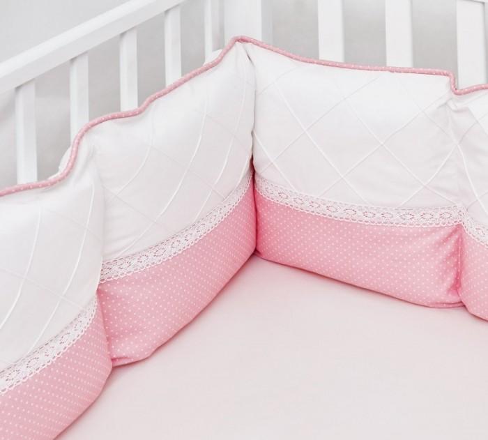 Бортик в кроватку Colibri&Lilly Pink Panther Pillow 120х60 см