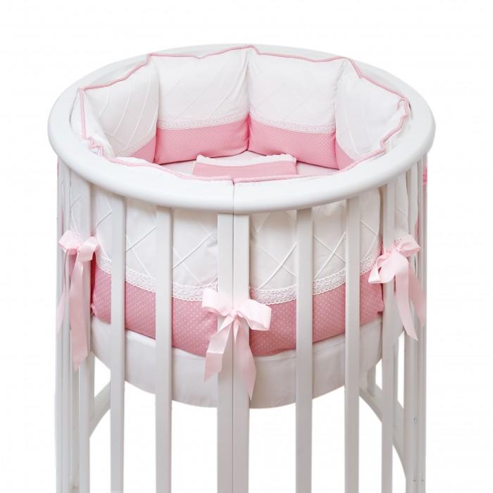 Комплект в кроватку Colibri&Lilly Pink Panther Round (7 предметов)