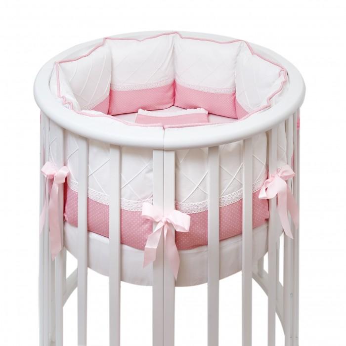 Бортик в кроватку Colibri&Lilly Pink Panther Round в круглую и овальную кроватку