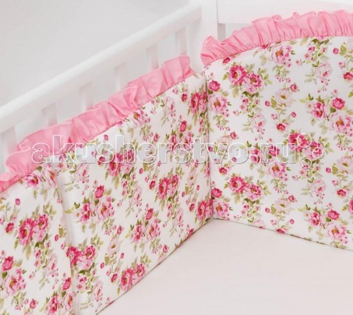 Бортик в кроватку Colibri&Lilly Rose Garden 120х60 см
