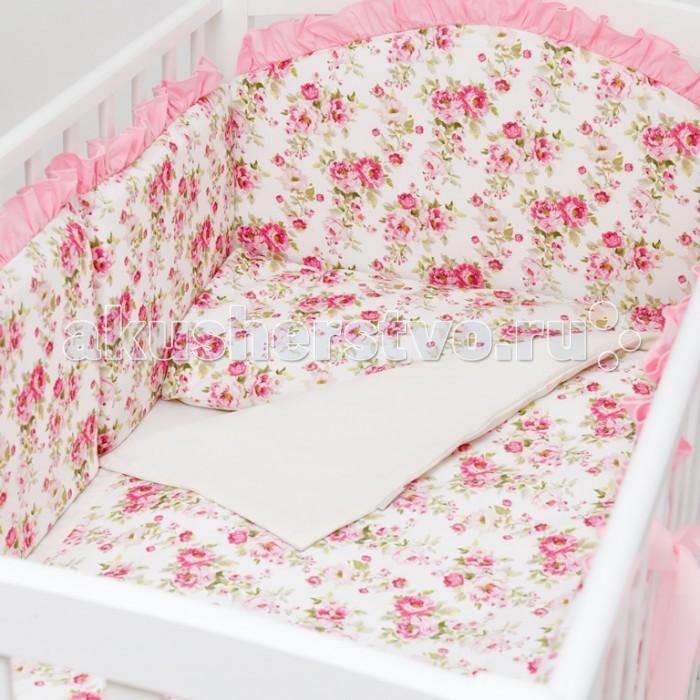 Комплекты в кроватку Colibri&Lilly Rose Garden (6 предметов) colibri подушка