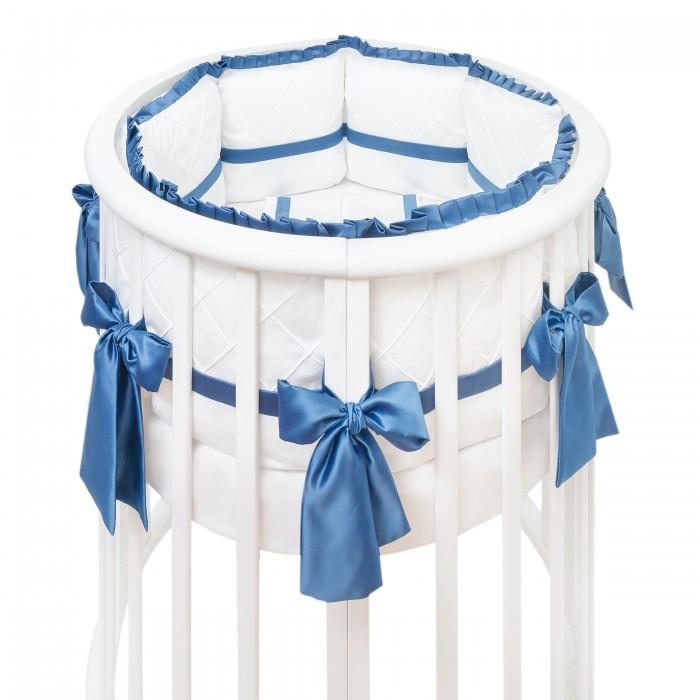 Комплекты в кроватку Colibri&Lilly Sapphire Round (7 предметов), Комплекты в кроватку - артикул:489296