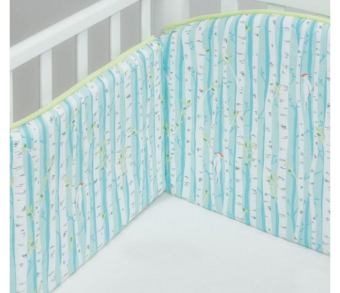 Бортик в кроватку Colibri&Lilly Spring Grove 120х60 см