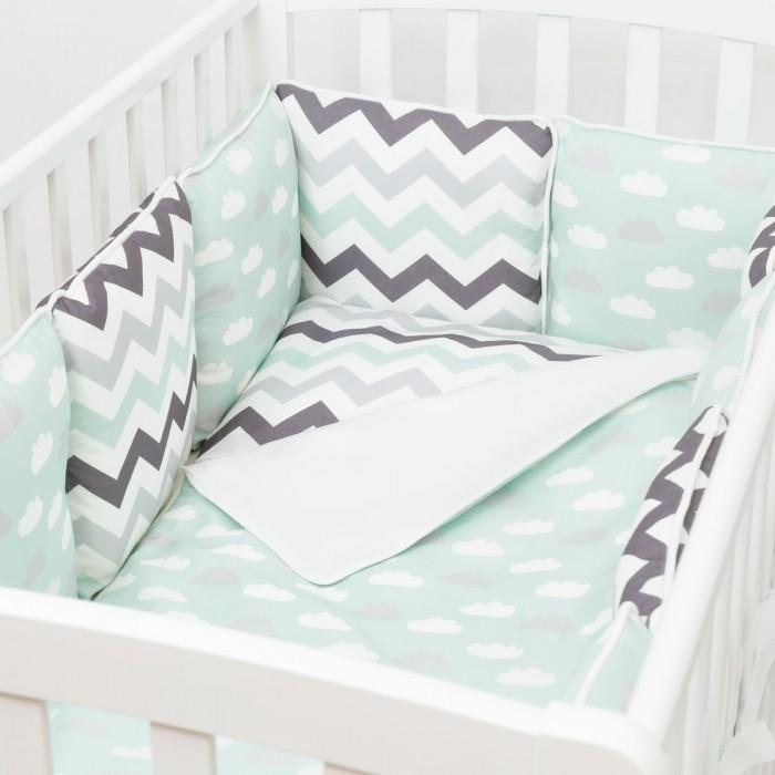 Комплект в кроватку Colibri&Lilly Summer Time (4 предмета)