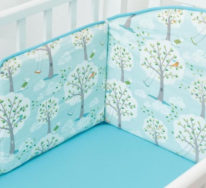 Бортик в кроватку Colibri&Lilly Wonderful Day 120х60 см