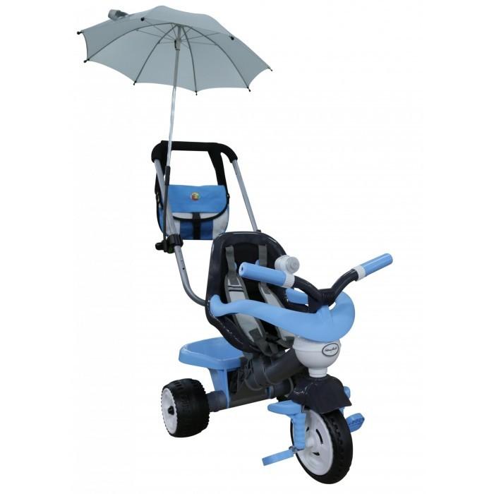 Велосипед трехколесный Coloma Амиго с сумкой и зонтиком (колеса пластмассовые) фото