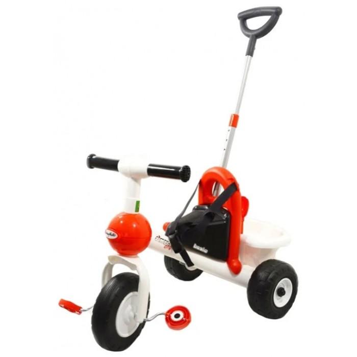 Купить Трехколесные велосипеды, Велосипед трехколесный Coloma Базик с ручкой, ремешком и набором игрушек