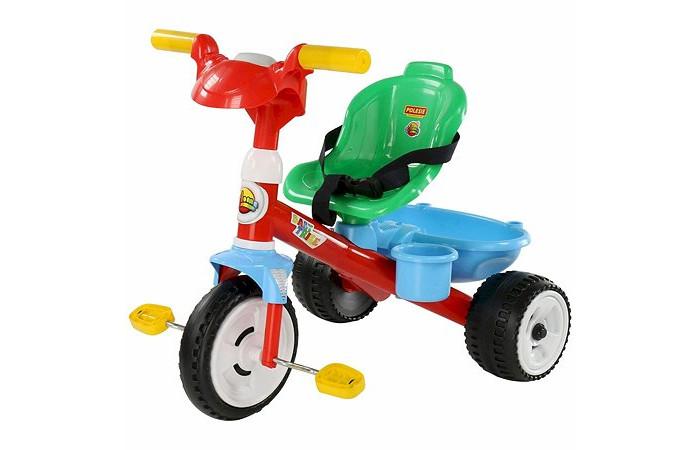 Трехколесные велосипеды Coloma Беби Трайк со звуком и ремешком (колеса пластмассовые)