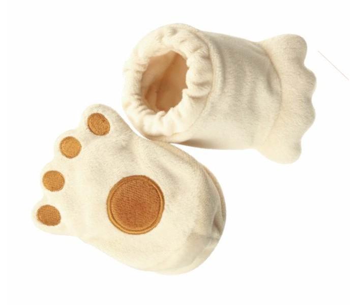 Детская одежда , Обувь и пинетки Combi Пинетки Плюшевая ножка Винни арт: 32598 -  Обувь и пинетки