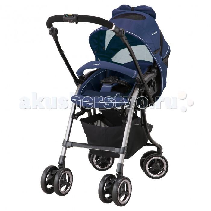 Прогулочная коляска Combi Turn Elegant IITurn Elegant IIПрогулочная коляска Combi Turn Elegant II, с муфтой для ног.  Особенности: Новый высококачественный материал (EGG)-Shock Qnew поглощает удары и вибрацию, препятствует смещению головки малыша. Контролирует температуру тела ребенка, создает идеальную вентиляцию и позволяет ребенку чувствовать себя комфортно. Съемный вкладыш W(EGG)-Shock обеспечит дополнительную защиту головы ребенка и снизит вибрацию. Встроенные гелевые подушки под внешним материалом снижают нагрузку и вибрацию на ноги и поясницу. На сиденье использован материал 3D (EGG)-Shock, одновременно являющийся энергопоглотителем и амортизатором, что защищает от вибраций и толчков во время прогулки, тем самым снизив нагрузку на позвоночник малыша.  В систему амортизации колес добавлены специальные воздушные подушки, помогающие ребенку переносить неровности дороги. Отводит до 5 градусов лишнего тепла Воздушная конструкция 20 мм шин позволяет сгладить все неровности и упрощает управление коляской. 4 автоматически поворотных колеса При перекидывании ручки, ведущие колеса становятся поворотными 360°, а другие 2 колеса автоматически блокируются. Коляску можно быстро и легко сложить одной рукой, при этом опущенная вниз спинка поднимется автоматически (не требуется поднимать спинку перед складыванием коляски). 5-точечные ремни безопасности с новыми ремнями регулировки     Новые ремни регулировки позволяют изменить длину ремня, просто потянув его. Угол наклона ручки может быть легко отрегулирован нажатием на кнопки на внутренней части ручки.  Новая корзина способна выдержать нагрузку до 10 кг., стало еще удобнее ложить и доставать предметы. Увеличенная до 58 см высота ложа. Увеличенная высота ложа повышает комфорт при общении мамы с малышом. Окна на капоре могут быть открыты для дополнительной вентиляции. Капор способен задерживать до 99%, вредного для ребенка, ультрафиолета. Система инновационной конструкции сиденья, обеспечивающая поддержку голову, спины и бедер