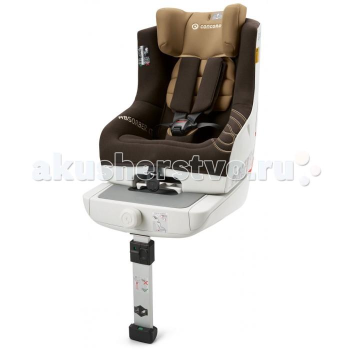Автокресло Concord Absorber XTAbsorber XTК этой модели коляски Вы можете приобрести   Прохладный чехол Cooly   Посадив малыша в автокресло Concord Absorber XT, Вы обеспечите ему максимально комфортные условия поездки. Для удобства сиденье оснащено системой isofix и специальными индикаторами правильной установки. Его так же можно закрепить с помощью штатного ремня безопасности автомобиля. Дополнительную устойчивость автокреслу обеспечивает телескопический упор в пол, который является третьей точкой опоры. Его использование значительно уменьшает смещение при резком торможении.   Упор регулируется под любую высоту сиденья. Подголовник автокресла Concord Absorber XT фиксируется в 5 положениях и регулируется одновременно с внутренними ремнями. Автоматическая регулировка подголовника поширине позволяет выбрать оптимальное положение для хорошего обзора или сна малыша.   Ребенок в автокресле фиксируется с помощью встроенных пятиточечных ремней с мягкими накладками. Регулировка высоты ремней производится одновременно с регулировкой высоты подголовника. Автокресло оснащено функцией автоматической регулировки ширины, что поможет выбрать оптимальное положение для сна или обзора. Для комфортного отдыха имеется регулировка угла наклона автокресла.   Каркас автокресла выполнен по двухслойной технологии, которая способна вобрать энергию удара, что увеличивает защитные свойства сиденья при аварии. Обивка выполнена по технологии trizone. В зонах наибольшей нагрузки используется плотная ткань, а в местах соприкосновения с кожей ребенка более мягкая. Все ткани дышащие, легко стираются. Для более прочной установки предусмотрен специальный натяжитель ремня.  Размеры 61х48х68 см<br>