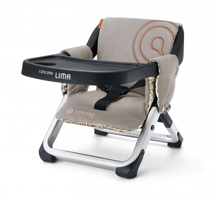 Стульчик для кормления Concord LimaLimaСтульчик для кормления Concord Lima  Удобный компактный детский стульчик Lima от Concord Маленький, компактный и идеально подходящий для путешествий высокий стул сочетает в себе функциональность и уникальный дизайн Concord.  Особенности: Быстро и легко крепится к любому стулу Высококачественное покрытие, приятная мягкая обивка Легко раскладывается и, следовательно, легко может быть транспортирован  Размеры: Длина 48 см Ширина 31 см Высота 37 см<br>