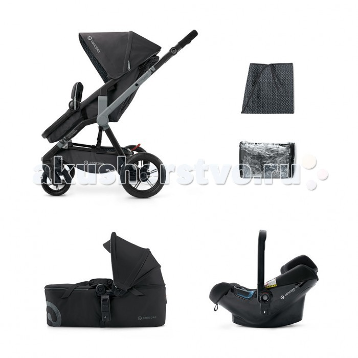 Коляска Concord Wanderer Mobility Set Scout + Air Safe 3 в 1