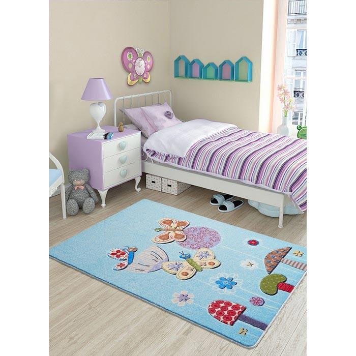 Детские ковры Confetti Kids Коврик Butterfly Effect 13 мм 100х150 см, Детские ковры - артикул:471331