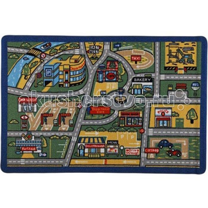 Детские ковры Confetti Коврик Kids Rugs Traffic 3 мм 133х190 см, Детские ковры - артикул:522336