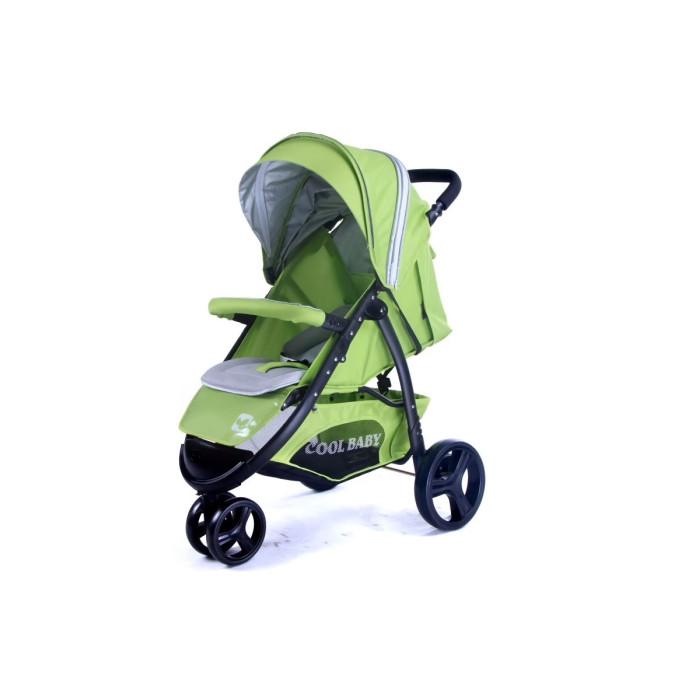 Прогулочная коляска Cool-Baby KDD-6799ZKDD-6799ZCool-Baby Прогулочная коляска KDD-6799Z трехколесная коляска для детей от 6 месяцев до 3 лет.  сложение одной рукой жесткая,регулируемая спинка-3 положения(до лежачего) регулируемая подножка, покрыта пленкой ПВХ пятиточечные ремни безопастности переднее колесо двойное-поворотное с фиксатором задние колеса одинарные с блокировкой крыша опускается до поручня большая багажная корзина смотровое окошко В комплекте: чехол на ножки силиконовый дождевик противомоскитная сетка мягкий,съемный матрасик Вес и размеры коляски: в разложенном виде (ДxШxВ):90 x 57 x 102 см диаметр передних колес:18 см диаметр задних колес: 25 см вес:9.25 кг Вес и размеры упаковки: размер упаковки(ДxШxВ):47 x 19 x 77 см объем:0.07 м3 вес:10.25 кг<br>