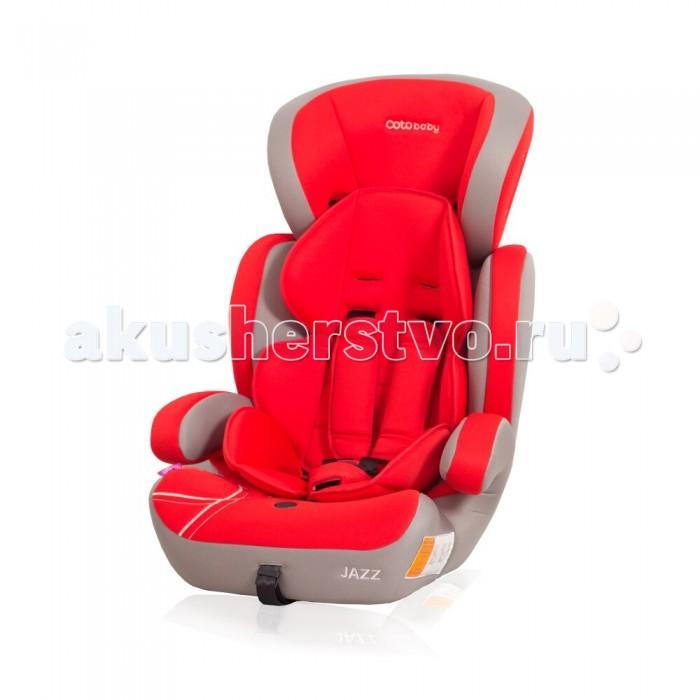 Автокресло Coto Baby JazzJazzАвтокресло CotoBaby Jazz производятся только из высококачественных материалов, продумана каждая деталь для обеспечения функциональности, комфорта и удобства. Тщательное и кропотливое исполнение - вот залог высокого качества продукции.  Особенности: Крепление автомобильным ремнем  Установка лицом вперед Внутренние ремни пятиточечные, с мягкими накладками Регулировка высоты внутренних ремней  есть, положений - 3 Регулировка высоты подголовника есть Дополнительная защита от боковых ударов  есть Съемный чехол<br>
