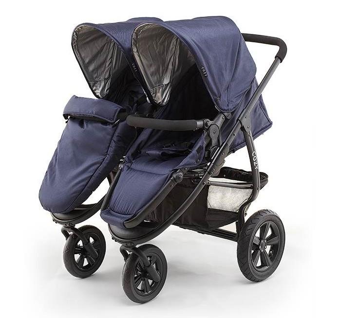Детские коляски , Коляски для двойни и погодок Cozy Коляска для двойни Duo 2 в 1 арт: 18320 -  Коляски для двойни и погодок