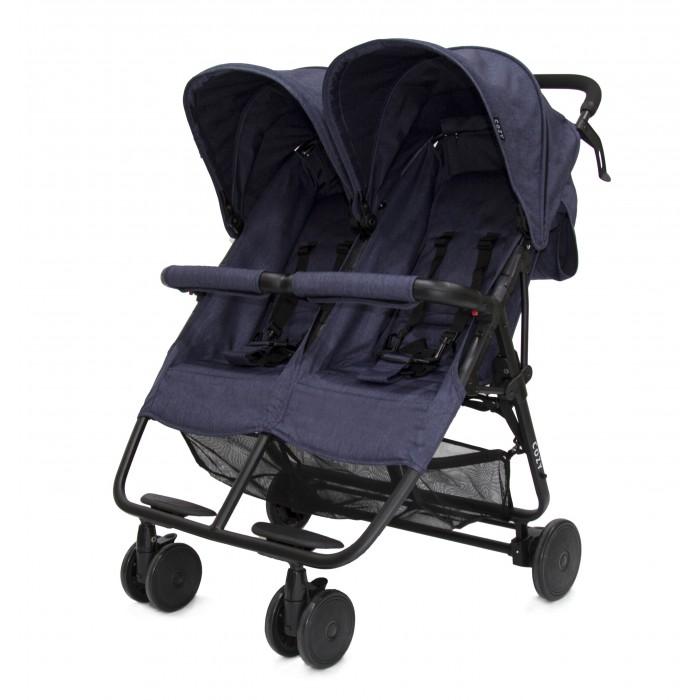 Cozy Прогулочная коляска для двойни SmartПрогулочная коляска для двойни SmartПрогулочная коляска для двойни Cozy Smart - стильная, красивая и очень удобная, она непременно понравится малышам, и, конечно же, их родителям своим комфортом и легкостью при движении. Спинки полностью опускаются, благодаря чему ваши крохи могут спокойно поспать во время прогулки на свежем воздухе. Также предусмотрены два регулируемых капюшона и две подножки.   У коляски четыре колеса из плотной резины, передние – сдвоенные, плавающие, фиксируемые. Есть надежный ножной тормоз. Изготовлена из качественных, прочных и безопасных материалов. Легко складывается и раскладывается, занимает мало места в сложенном виде, удобна для транспортировки.  Прогулочный блок: предназначен для детей от 6 месяцев до 3 лет сиденье для каждого ребенка широкое и глубокое, независимы друг от друга. Спинки регулируются в нескольких положения, включая позицию для сна пятиточечные ремни безопасности, между ног - паховая перемычка две удобных подножки удобный, покрытый тканевой накладкой бампер большие и объемные, независимо регулируемые капюшоны обивка сиденья «на липучках», поэтому ее легко снимать для стирки  Шасси: ручка удобная, по высоте не регулируется, защищена нескользящей накладкой надежный, ножной тормоз 4 колеса, передняя пара сдвоенная, передние колеса плавающие с возможностью фиксации шасси облегченный алюминий легкая и быстрая система складывания, по типу «книжка», в сложенном состоянии необычайно компактна, занимает мало места, удобна для транспортировки и хранения сетчатая корзина для покупок  Размер в разложенном виде (дхшхв) - 78х76х102 см Размер в сложенном виде (дхшхв) - 30х76х67 см Внутренние размеры сидения (каждого) - 31 см Ширина колесной базы - 76 см Вес:  7,7 кг<br>