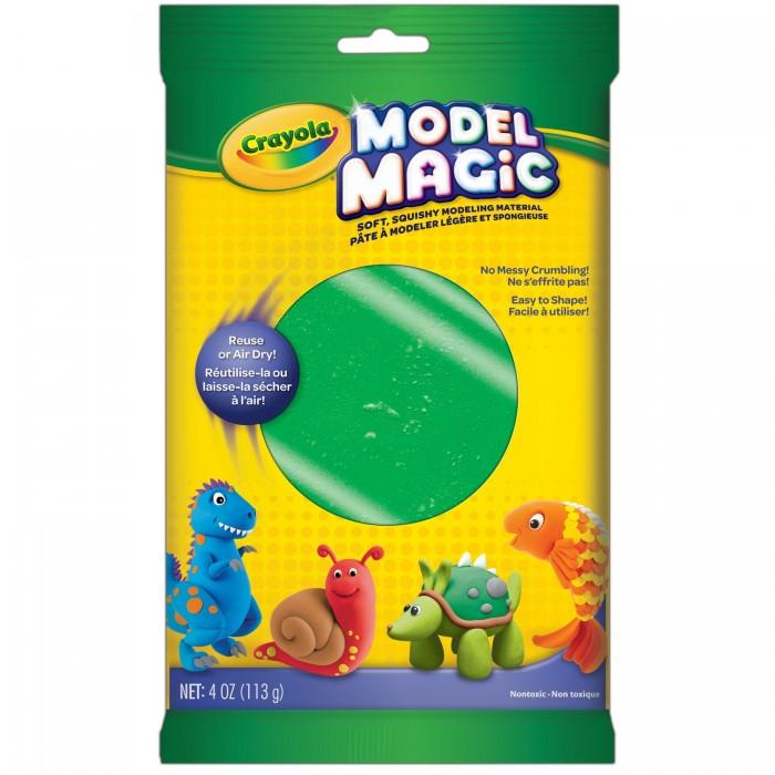 Всё для лепки Crayola Застывающий пластилин Model Magic 113 г model magic modeling compound 8 oz each neon 2 lbs by crayola catalog category paper pens