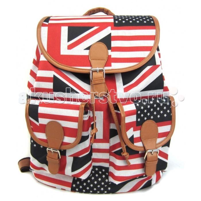 Creative LLC Рюкзак British Flag GL-BC853Рюкзак British Flag GL-BC853Creative LLC Рюкзак British Flag с 2-мя карманами.   С таким стильным и удобным рюкзаком его владелица точно не останется незамеченной, даже в суете большого города! Этот аксессуар органично впишется в современный подростковый стиль, а благодаря функциональности и удобству – станет любимым и незаменимым!   Особенности: Милая и очаровательная модель, которая сразу же привлекает внимание и поднимает настроение!  Удобный рюкзак с классическим кроем, застежкой на клапан и двумя карманами впереди станет надежным и постоянным спутником для своего владельца.   Размер: 39х35х17  см<br>