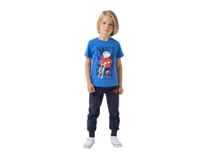 Картинка для Спортивные костюмы Crockid Брюки спортивные для мальчика К 4995