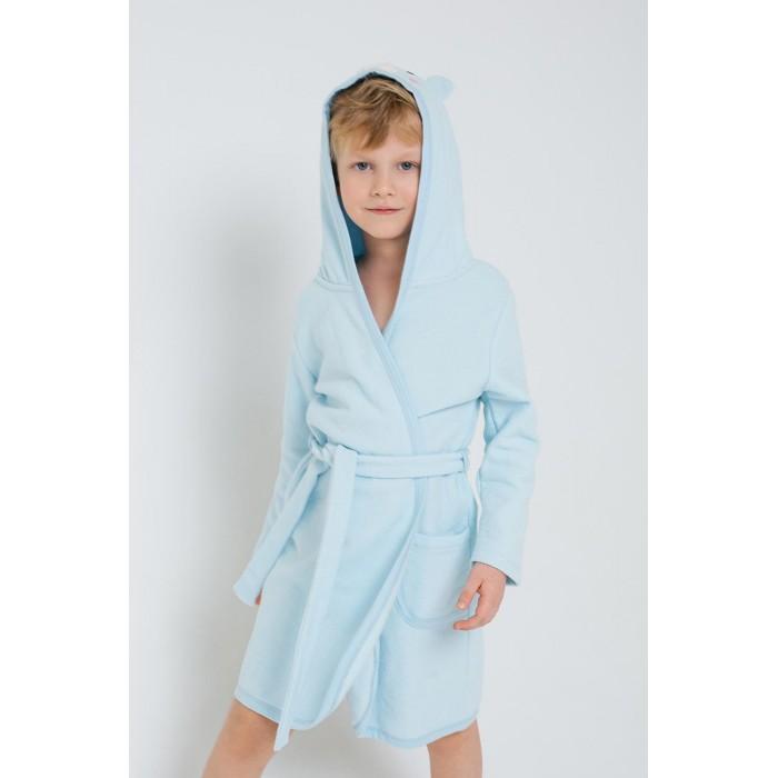 Домашняя одежда Crockid Халат для мальчика Мишка К 5481