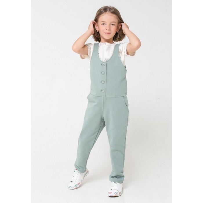 Брюки и джинсы Crockid Комбинезон для девочки КР 6366