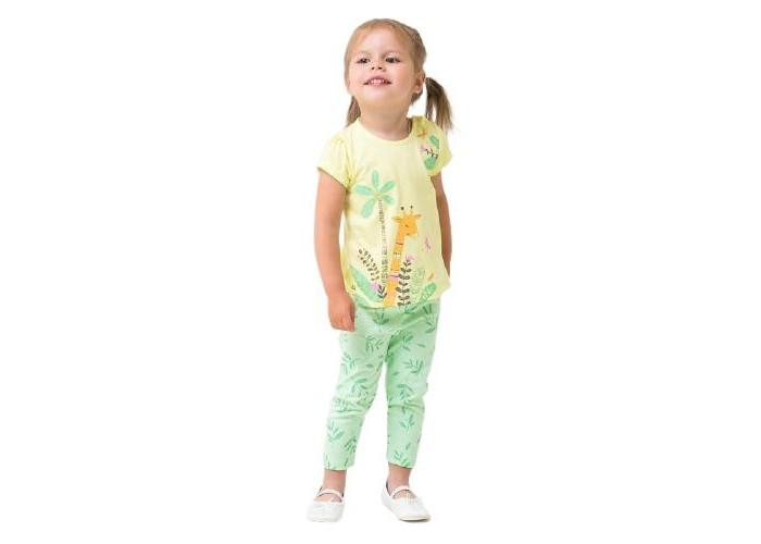 Crockid  Комплект для девочки (футболка, брюки) КР 2742
